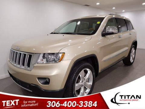Pre-Owned 2012 Jeep Grand Cherokee Overland V6 | Leather | Sunroof | Navigation