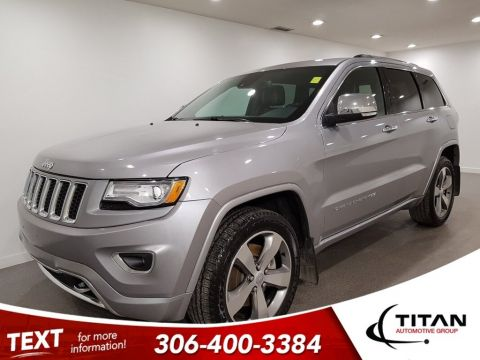 Pre-Owned 2015 Jeep Grand Cherokee Overland Ecodiesel 4x4 CAM NAV Leather