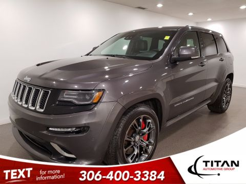 Pre-Owned 2016 Jeep Grand Cherokee SRT 6.4L Hemi 475hp | Leather | Sunroof | Navigation