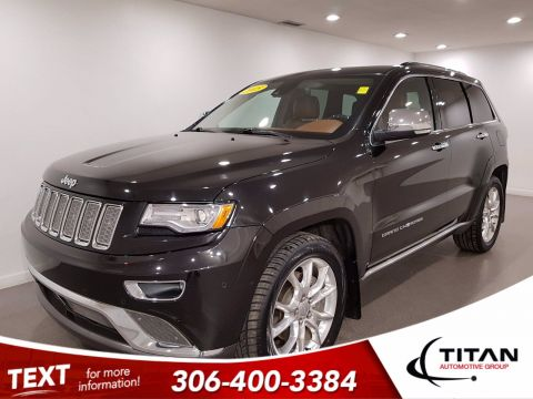 Pre-Owned 2015 Jeep Grand Cherokee Summit EcoDiesel | Leather | Sunroof | Navigation