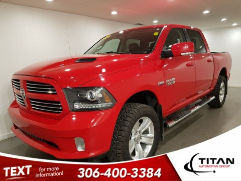 Pre-Owned 2016 Ram 1500 Sport Crew Cab | Navigation | Remote Start