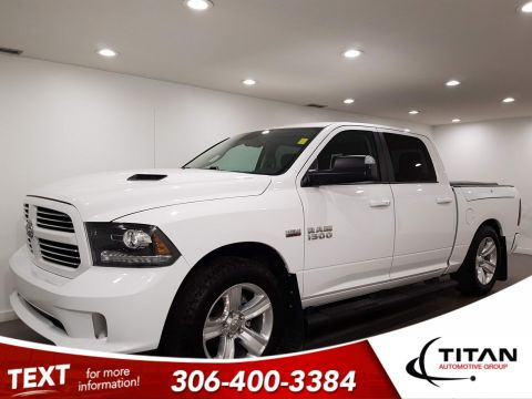 Pre-Owned 2016 Ram 1500 Sport V8 4x4 CAM NAV RAMBOXES Htd Seats