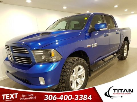 Pre-Owned 2015 Ram 1500 Sport 4x4 Lift 35 Tires Heated Steering wheel