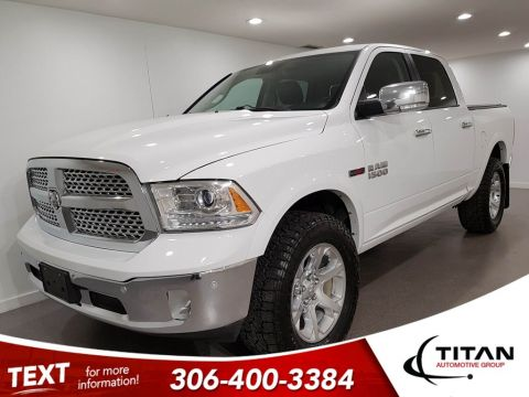 Pre-Owned 2014 Ram 1500 Laramie Ecodiesel Level Lift 35 Tires NAV Leather