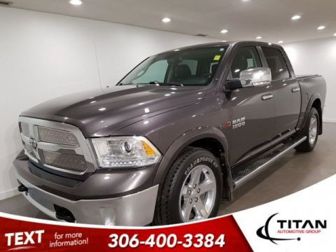 Pre-Owned 2014 Ram 1500 Laramie Ecodiesel 4x4 CAM NAV Leather