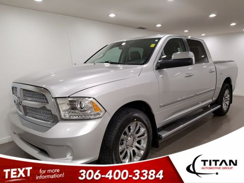Pre-Owned 2014 Ram 1500 Longhorn Limited Crew Cab | Leather | Sunroof | Navigation