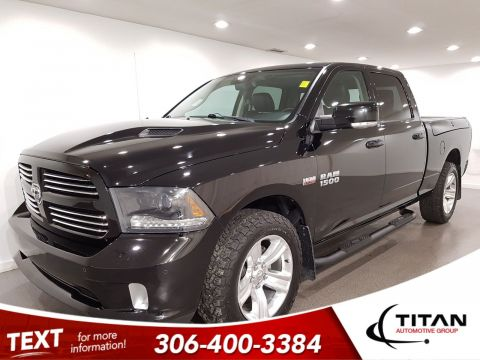Pre-Owned 2015 Ram 1500 Sport HEMI 4x4 RAMBOXES BFG Tires CAM R/T Hood 20 Rims Leather Sunroof Nav
