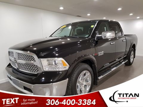 Pre-Owned 2014 Ram 1500 Laramie Crew Cab EcoDiesel | Leather | Sunroof | Navigation