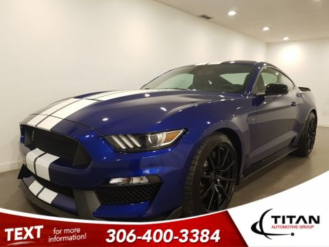 Pre-Owned 2016 Ford Mustang Shelby GT350|5.2L 526HP|Deep Impact Blue|Track Package|Rare|Extremely low Kms!!!