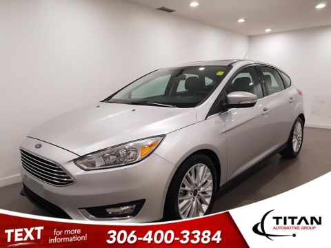 Pre-Owned 2018 Ford Focus Titanium CAM Leather Htd Seats Htd Seats