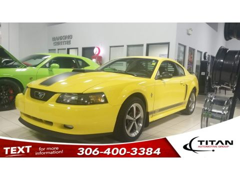 Pre-Owned 2003 Ford Mustang Mach 1 V8 5 spd Manual Leather Alloys