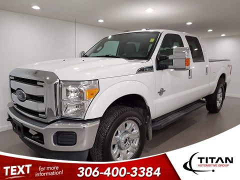 Pre-Owned 2013 Ford F-350 Superduty Powerstroke Diesel 4x4 Crew Alloys