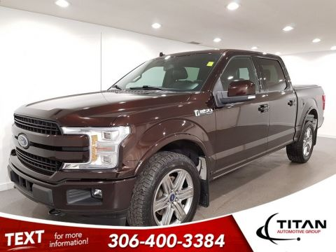 Pre-Owned 2018 Ford F-150 Lariat FX4 B&O Audio 360 CAM Leather NAV