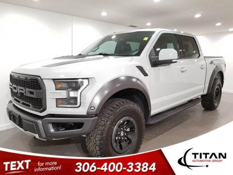 Pre-Owned 2017 Ford F-150 Raptor 802A EcoBoost 4x4 NAV Panoramic Sunroof