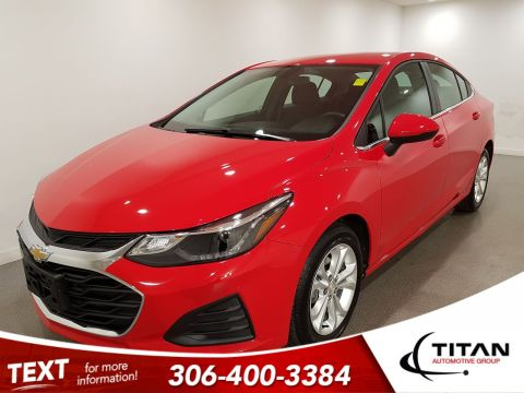 Pre-Owned 2019 Chevrolet Cruze LT|CAM|Alloys|Bluetooth