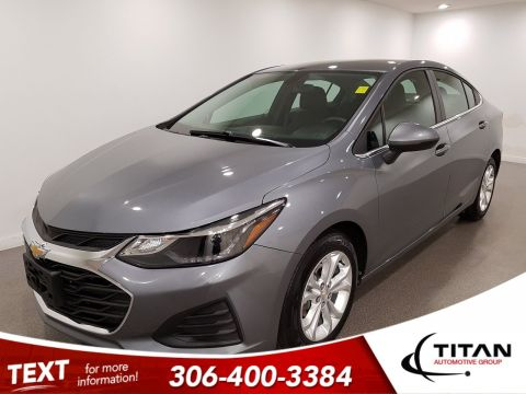 Pre-Owned 2019 Chevrolet Cruze LT|CAM|Alloys|Htd Seats|Bluetooth