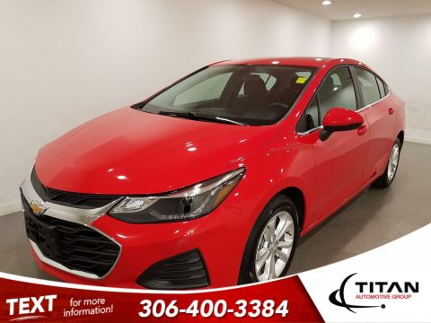 Pre-Owned 2019 Chevrolet Cruze LT|CAM|Htd Seats|Alloys