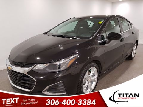 Pre-Owned 2019 Chevrolet Cruze Premier|CAM|Leather|Bluetooth|Alloys