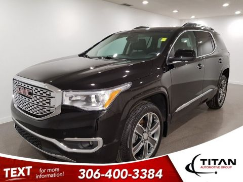 Pre-Owned 2017 GMC Acadia Denali AWD CAM NAV Leather 6 Pass