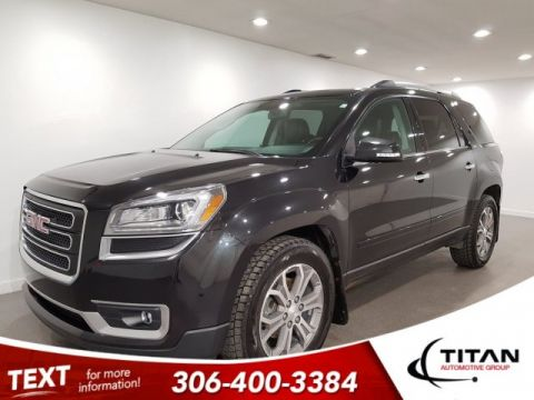 Pre-Owned 2013 GMC Acadia SLT1 AWD Leather DVD 7Pass Sunroof
