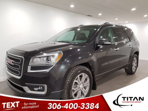 Pre-Owned 2013 GMC Acadia AWD Leather DVD 7Pass Sunroof