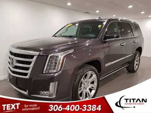 Pre-Owned 2015 Cadillac Escalade Premium | Leather | Sunroof | Navigation | DVD