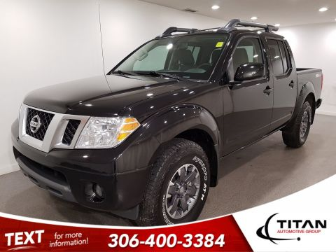 Pre-Owned 2019 Nissan Frontier PRO-4X|4x4|V6|CAM|NAV|Alloys