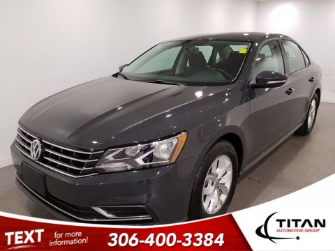 Pre-Owned 2018 Volkswagen Passat S|CAM|Htd Seats|Alloys
