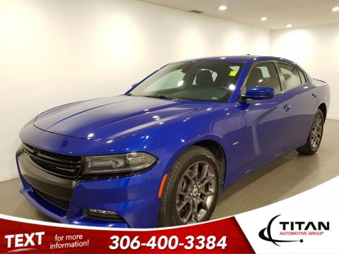 Pre-Owned 2018 Dodge Charger GT AWD V6 | Heated Seats | Sunroof | Navigation