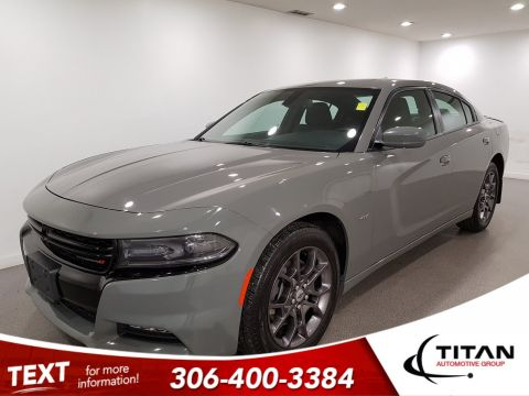 Pre-Owned 2018 Dodge Charger GT|AWD|V6|CAM|Sunroof|Bluetooth