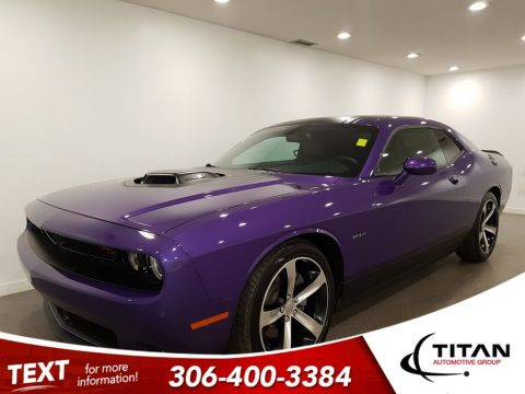 Pre-Owned 2016 Dodge Challenger R/T Shaker V8 CAM Leather Alloys