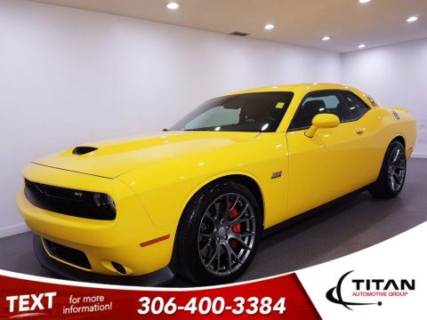Pre-Owned 2017 Dodge Challenger SRT 392 6.4L Hemi 485hp | Leather | Sunroof | Remote Start