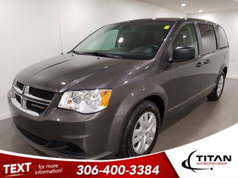 Pre-Owned 2019 Dodge Grand Caravan Canada Value Package | Back-up Camera