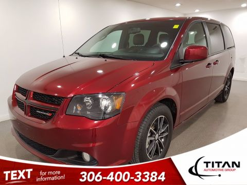 Pre-Owned 2018 Dodge Grand Caravan GT | Leather | Remote Start | Back-up Camera