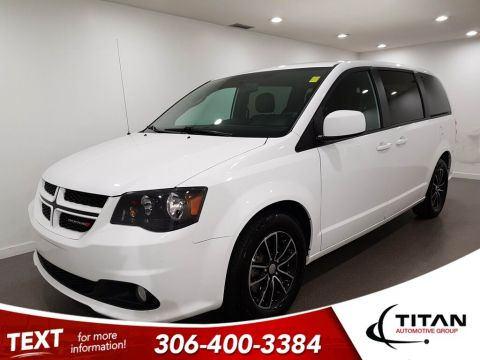 Pre-Owned 2018 Dodge Grand Caravan GT V6 CAM Leather Htd Seats Alloys