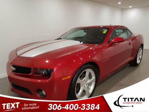 Pre-Owned 2013 Chevrolet Camaro RS V6 323HP| Heated Leather | Sunroof | Boston Premium Audio | Remote Start | Rims | Spoiler
