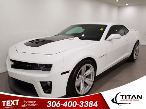 Pre-Owned 2013 Chevrolet Camaro ZL1|V8|Supercharged|Brembo|NAV|Local