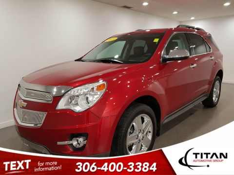 Pre-Owned 2015 Chevrolet Equinox LTZ|AWD|Leather|NAV|CAM|Htd Seats|Rims