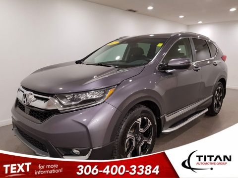 Pre-Owned 2017 Honda CR-V Touring AWD | Leather | Sunroof | Navigation