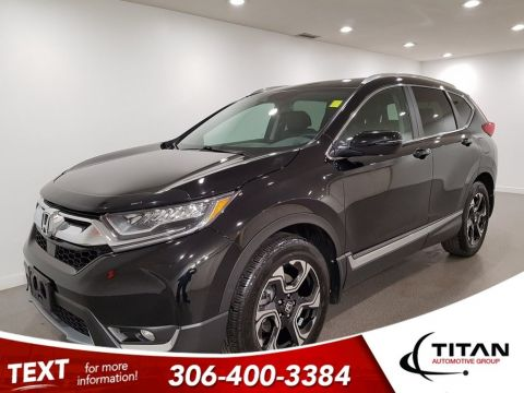 Pre-Owned 2017 Honda CR-V Touring AWD Leather CAM NAV