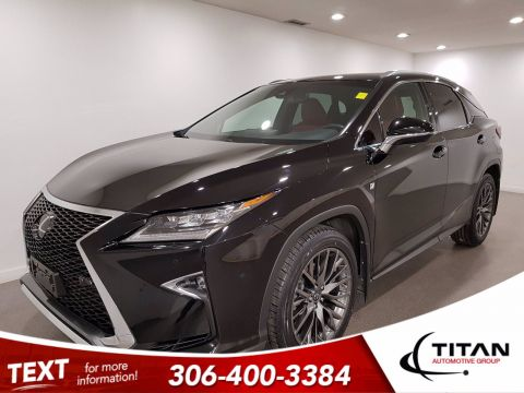 Pre-Owned 2017 Lexus RX 350 V6 AWD | Leather | Sunroof | Navigation