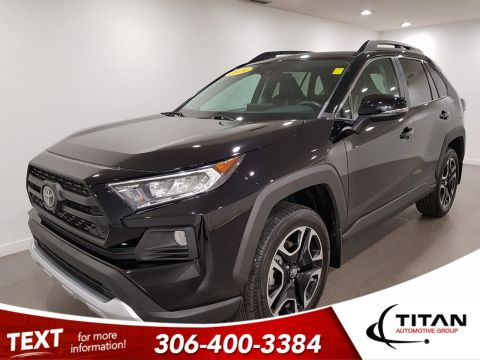 Pre-Owned 2019 Toyota RAV4 Trail|AWD|CAM|Leather|Rims|Htd Seats