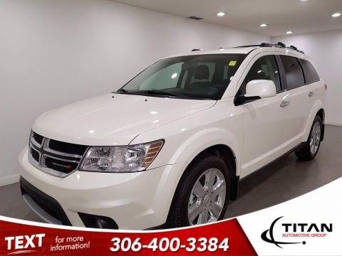 Pre-Owned 2014 Dodge Journey R/T AWD V6 | Leather | Sunroof | Navigation
