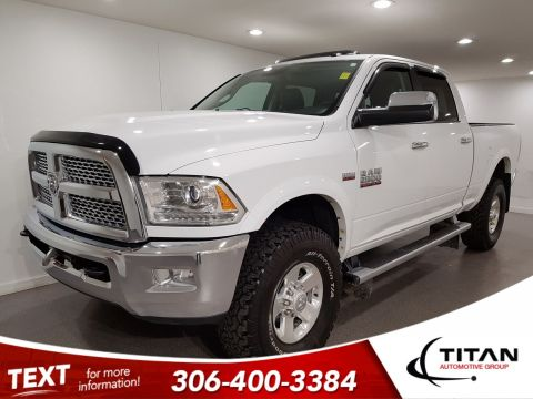 Pre-Owned 2015 Ram 2500 Laramie|Power Wagon|6.4L HEMI|Leather|NAV|Sunroof|37 Tire|Winch