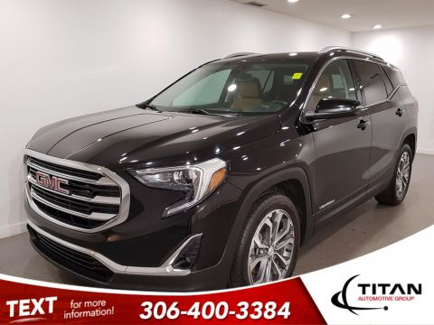 Pre-Owned 2018 GMC Terrain SLT|AWD|BOSE|2-Tone Htd Leather|NAV|Pano Sunroof|Remote Starter