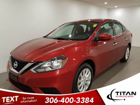 Pre-Owned 2017 Nissan Sentra SV | Heated Seats | Sunroof | Back-up Camera