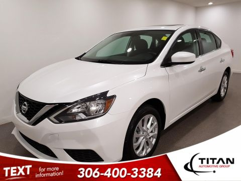 Pre-Owned 2019 Nissan Sentra SV | Heated Seats | Sunroof | Back-up Camera