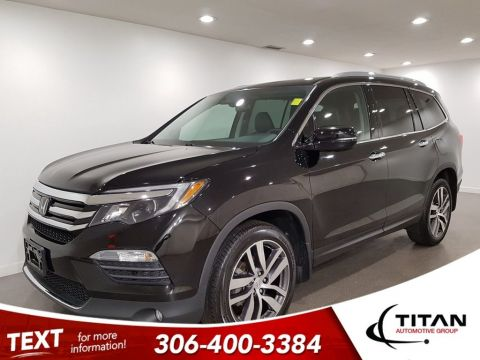Pre-Owned 2017 Honda Pilot Touring AWD CAM NAV Htd Seats