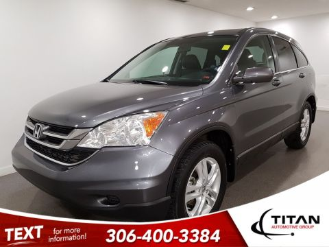Pre-Owned 2010 Honda CR-V EX-L|4x4|Leather|Alloys|Sunroof|Local|LOW KM!!|