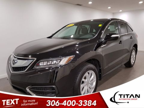 Pre-Owned 2017 Acura RDX Tech|AWD|Leather|Htd Seats|NAV|Rims
